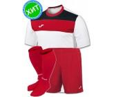 Комплект футбольной формы Joma CREW(футболка+шорты+гетры)100224.206-1