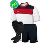 Комплект футбольной формы Joma CREW(футболка+шорты+гетры)100224.206