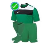 Комплект футбольной формы Joma CREW(футболка+шорты+гетры)100224.450