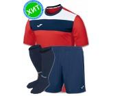 Комплект футбольной формы Joma CREW(футболка+шорты+гетры)100224.600