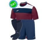 Комплект футбольной формы Joma CREW(футболка+шорты+гетры)100224.650