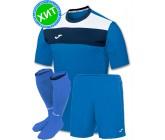 Комплект футбольной формы Joma CREW(футболка+шорты+гетры)100224.700