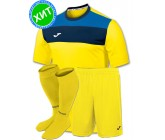 Комплект футбольной формы Joma CREW(футболка+шорты+гетры)100224.900