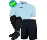 Акция! Комплект футбольной формы Joma Rival 100004.350 футболка, шорты, гетры