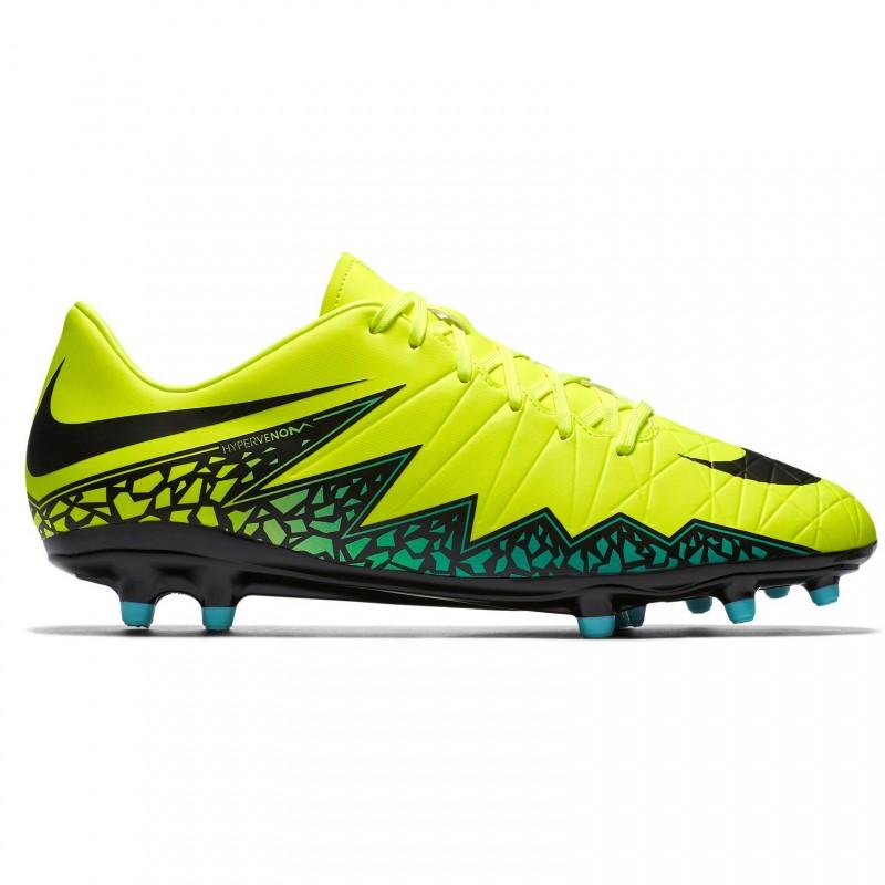 Футбольные бутсы   Купить бутсы Nike Hypervenom Phelon II FG желтые ... f01959a7f46