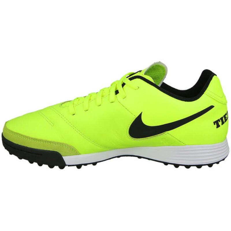 new style d01c8 2f467 Сороконожки Nike TiempoX Genio II Leather TF лайм