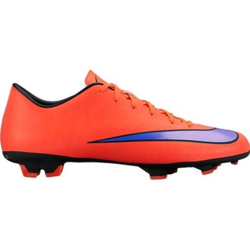 Футбольные бутсы   Купить бутсы Nike Mercurial Victory V FG красные ... 72fcc28df03