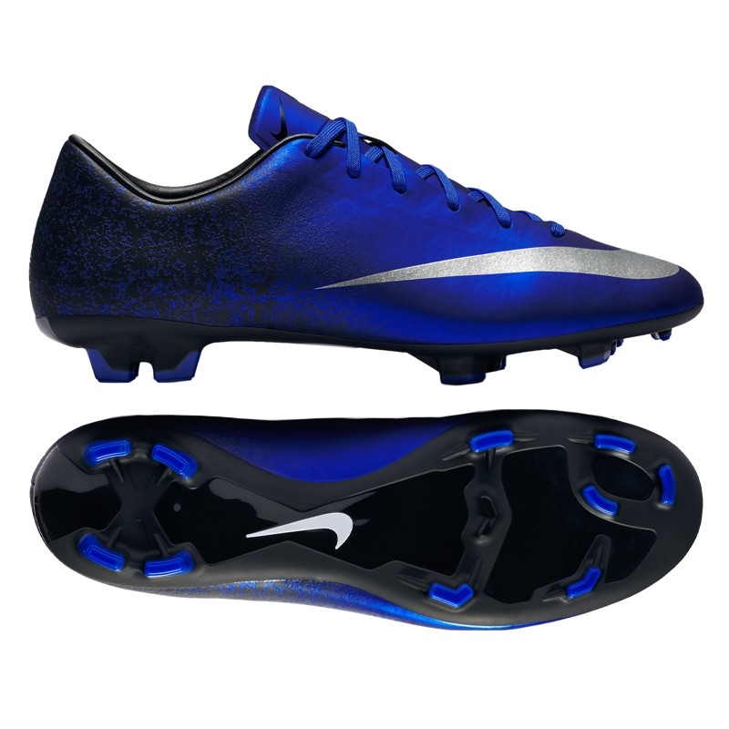 Футбольные бутсы   Купить бутсы Nike Victory CR7 V FG синие недорого ... c3e78208a7d