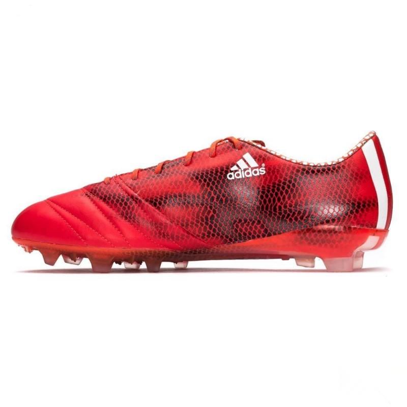 Купить футбольные бутсы Adidas F50 adizero FG Leather красные ... 5f6faf0324b8c