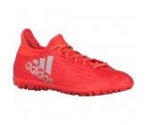 Сороконожки Adidas X16.3 TF красные