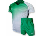 Футбольная форма Europaw FB-007-17 зелено-белая