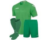 Акция! Комплект футбольной формы Joma Fit One(футболка+шорты+гетры) зелена FIT ONE 1199.98.002