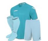 Акция! Комплект футбольной формы Joma Fit One(футболка+шорты+гетры) голуба FIT ONE 1199.98.011