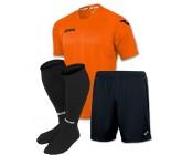 Акция! Комплект футбольной формы Joma Fit One(футболка+шорты+гетры) оранжева  FIT ONE 1199.98.026