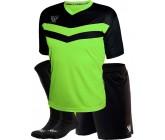 Комплект футбольной формы Swift Romb(футболка+шорты+гетры)lime