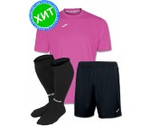 Акция! Комплект футбольной формы Joma Combi(футболка+шорты+гетры) 100052.500 - сиреневый