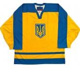 Хоккейный игровой свитер сборной Украины!