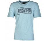 Футболка Hummel Scott Ss Tee синяя 019-466-7599