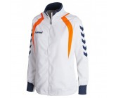 Ветровка женская Hummel TEAM PLAYER WOMEN MICRO JACKET белая 036-412-9001