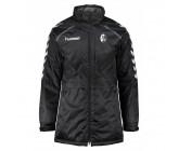Куртка мужская HUMMEL STAY AUTHENTIC BENCH JACKET черная 080-378-2001