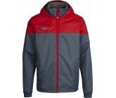 Куртка детская Hummel SIRIUS ALL WEATHER JACKET серо-красная 180-815-2922