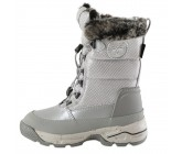 Сапоги детские Hummel SNOW BOOT METALLIC JR серые 164-206-1508