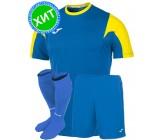 Комплект футбольной формы Joma ESTADIO(футболка+шорты+гетры) 100146.709