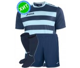 Комплект футбольной формы Joma EUROPA II 1211.98.005 (футболка+шорты+гетры)