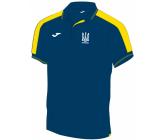 Официальная футболка поло сборной Украины по футболу Joma FFU303011.17