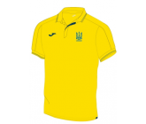 Официальная футболка поло сборной Украины по футболу Joma FFU303012.17