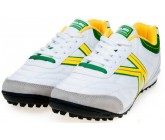Сороконожки Kelme Furia Turf White Green 55421