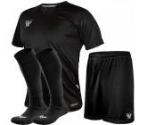 Комплект футбольной формы Swift VITTORIA(футболка+шорты+гетры) черный