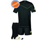 Акция! Комплект футбольной формы  (футболка+шорты+гетры) lotto KIT SIGMA  black