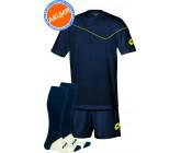 Акция! Комплект футбольной формы (футболка+шорты+гетры) lotto KIT SIGMA d-bl