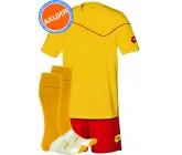 Акция! Комплект футбольной формы Lotto (футболка+шорты+гетры)  lotto KIT SIGMA yellow
