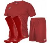 Комплект футбольной формы Swift VITTORIA(футболка+шорты+гетры) красная