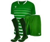 Комплект футбольной формы Swift FINT COOLTHECH (футболка+шорты+гетры) зеленая