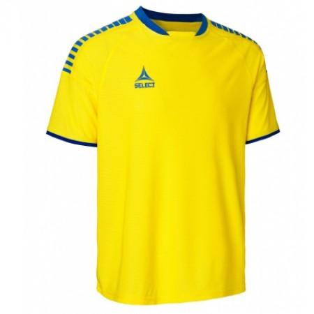 Футболка SELECT BRAZIL PLAYER SHIRT 623100 желтая