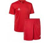 Комплект футбольной формы Select MEXICO (футболка+шорты) красная