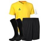 Комплект футбольной формы Select MEXICO (футболка+шорты+гетры) желто-черный