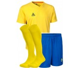 Комплект футбольной формы Select MEXICO (футболка+шорты+гетры) желто-синий