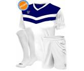 Комплект футбольной формы Swift Romb(футболка+шорты+гетры)wh-blue