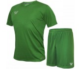 Комплект футбольной формы Swift VITTORIA(футболка+шорты) зеленая