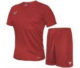 Комплект футбольной формы Swift VITTORIA(футболка+шорты) красная