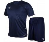 Комплект футбольной формы Swift VITTORIA(футболка+шорты) т-синий