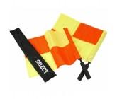 Флажок лайнсмена Select профессиональный, желто-красный 2 шт.