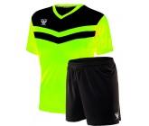 Комплект футбольной формы Swift Romb(футболка+шорты)lime