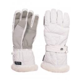 Перчатки горнолыжные женские Trespass GEM white FAGLGLI20002