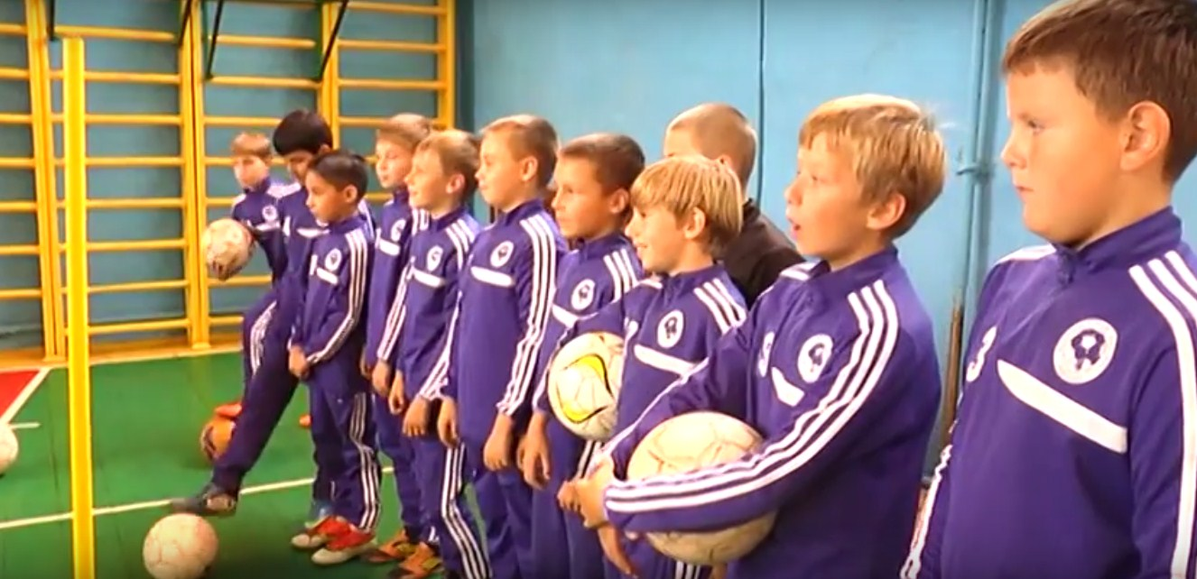 фото команды по футболку ДЮСШ