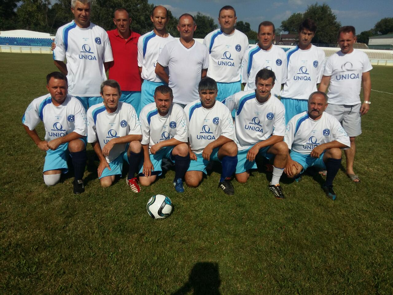 футбольная форма Uniqa